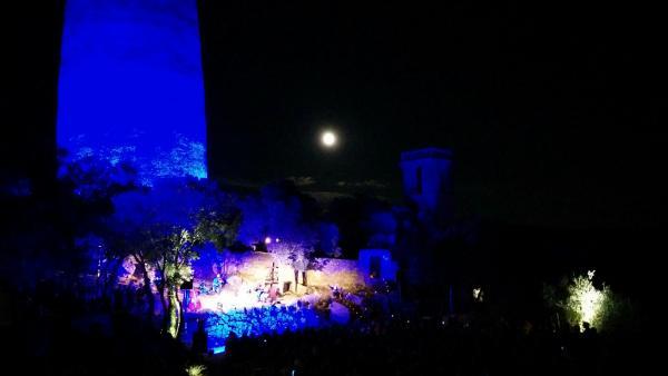 01.07.2015 La lluna plena acompanyà el concert  Vallferosa -  Ramon Sunyer