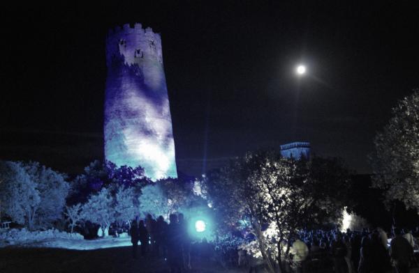 01.07.2015 La lluna plena va posar una nota especial a la nit  Vallferosa -  Ramon Sunyer