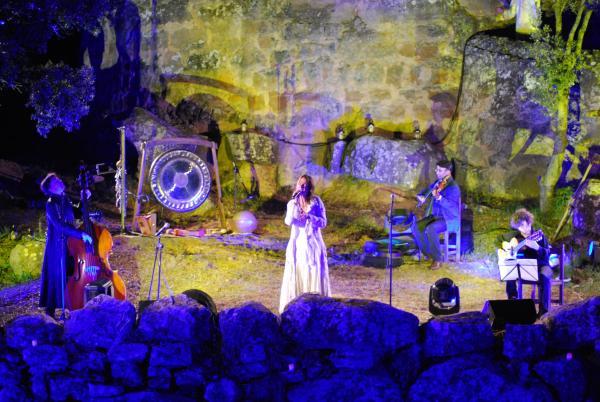 Concert de Lídia Pujol a Vallferosa