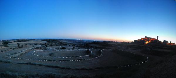 10.08.2015 Laberint de llum  Florejacs -  Ramon Sunyer