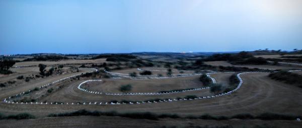 08.08.2015 Laberint de llum  Florejacs -  Autor