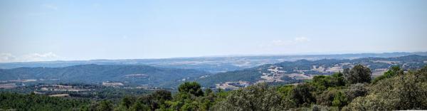 16.08.2015 Mirant al sud  Vallferosa -  Ramon Sunyer
