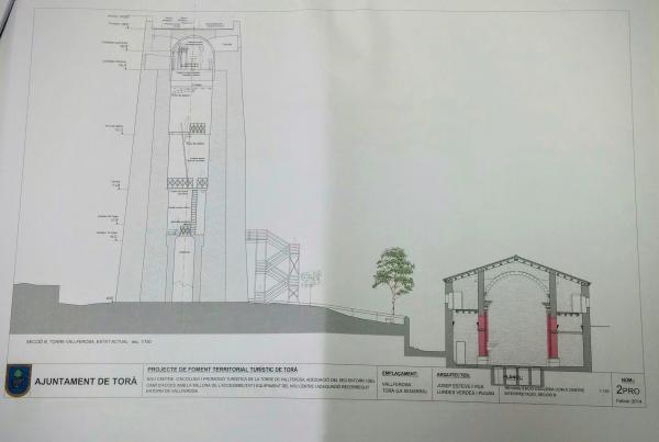 Projecte d'actuacions a Vallferosa - Vallferosa