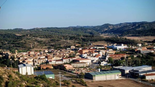 21.08.2015 Vista des de l'Aguda  Torà -  Ramon Sunyer