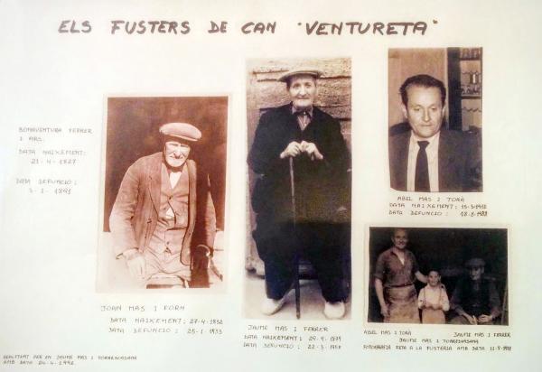27.08.2015 Cal Ventureta, quatre generacions de fusters  Torà -  Ramon Sunyer