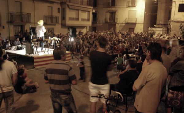 27.08.2015 Els Monòlegs marquen l'inici de la festa major  Torà -  Ramon Sunyer