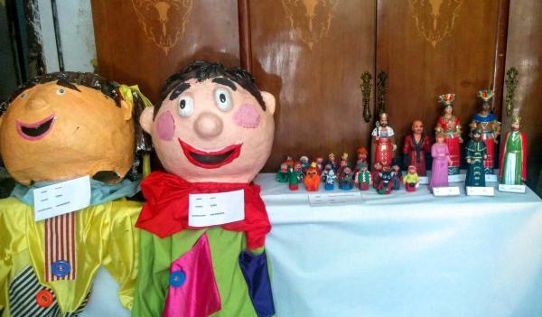 28.08.2015 Exposició gegantera a cal Cardoní  Torà -  Ramon Sunyer
