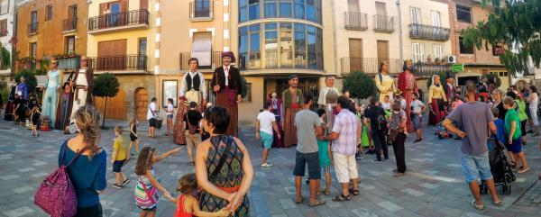 29.08.2015 2a trobada de Gegants  Torà -  Ramon Sunyer
