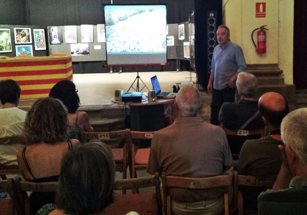 29.08.2015 Presentació llibre Després de l'incendi  Torà -  Xavier Sunyer