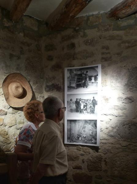 30.08.2015 Exposició de l'APACT a cal Gegó  Torà -  Xavier Sunyer