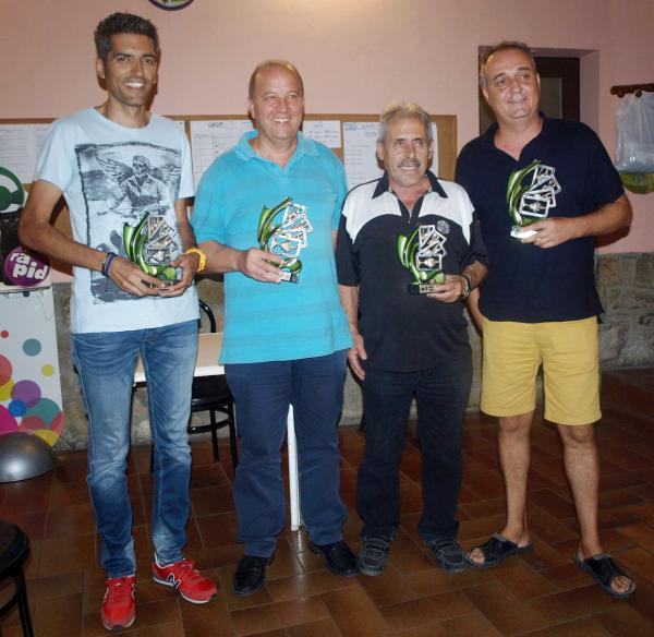 28.08.2015 Campions i finalistes XXXV camponat botifarra  Torà -  Ramon Sunyer