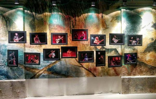 28.08.2015 Exposició Oh Músics! de JM Santesmasses  Torà -  Ramon Sunyer