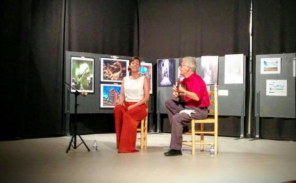 30.08.2015 Concert Montserrat Seró i J. Lluis Guzman-Antich al Convent  Torà -  Ramon Sunyer