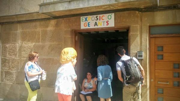 31.08.2015 Visita de la grossa  Torà -  Ramon Sunyer
