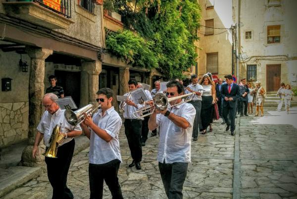 01.09.2015 la comitiva  Torà -  Ramon Sunyer