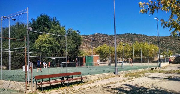 20.09.2015 Pistes tennis  Torà -  Ramon Sunyer