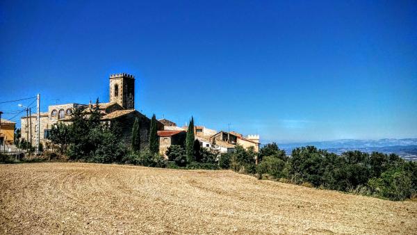 23.09.2015 Vista des de l'est  Vicfred -  Ramon Sunyer