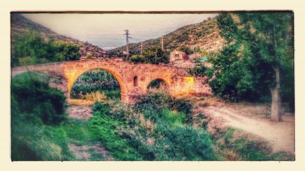 Pont de les Merites - Autor Ramon Sunyer (2015)