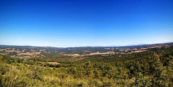 11.10.2015 paisatge mirant al nord  Sant Serni -  Ramon Sunyer