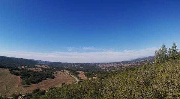 11.10.2015 paisatge mirant a ponent  Sant Serni -  Ramon Sunyer