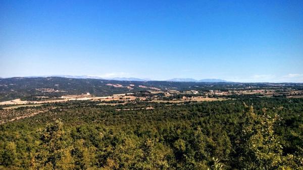 11.10.2015 paisatge  Sant Serni -  Ramon Sunyer