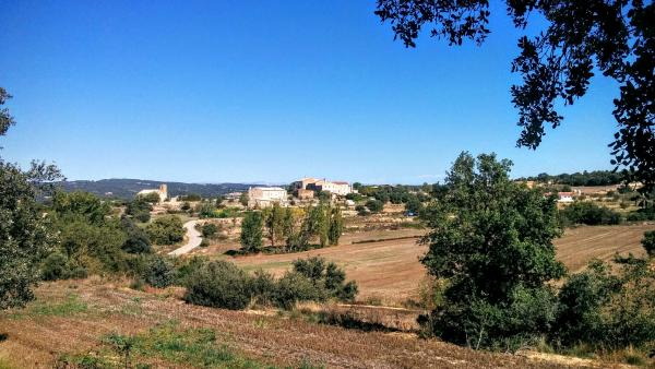 11.10.2015 vista del poble  Sant Serni -  Ramon Sunyer
