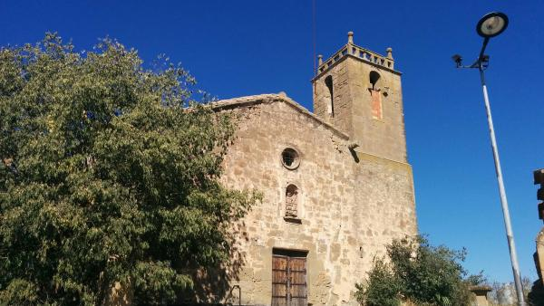 11.10.2015 església  Sant Serni -  Ramon Sunyer