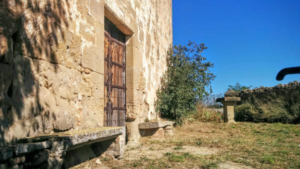 11.10.2015 Entrada a l'església  Sant Serni -  Ramon Sunyer