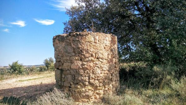 11.10.2015 Pou a les Viles  Sant Serni -  Ramon Sunyer