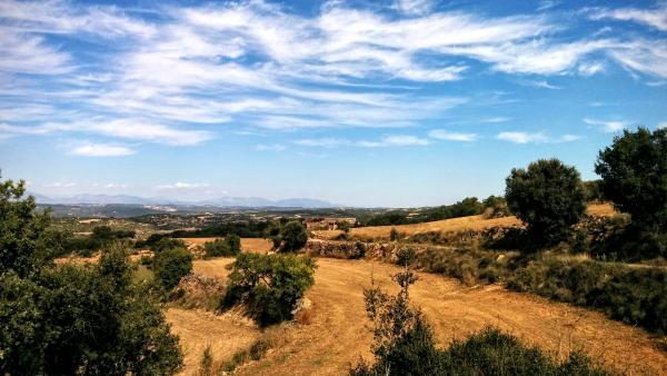 11.10.2015 paisatge  Claret -  Ramon Sunyer