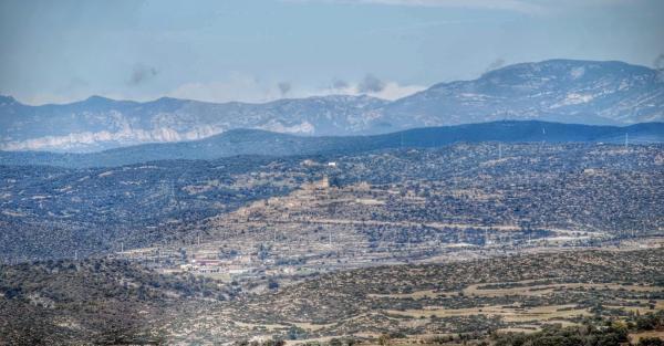 22.11.2015 Vista des de Palou  Ribelles -  Ramon Sunyer