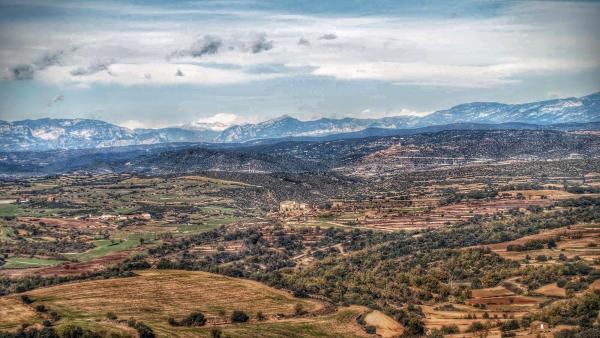 22.11.2015 Vista de Grasnollers i Ribelles des de Palou  Ribelles -  Ramon Sunyer