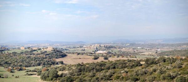 08.12.2015 vista del poble  Selvanera -  Ramon Sunyer