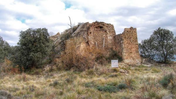 07.12.2015 Castell Castell de Valldàries  231 - Autor Ramon Sunyer