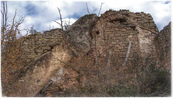 07.12.2015 Castell de Valldàries  Vilanova de l'Aguda -  Ramon Sunyer