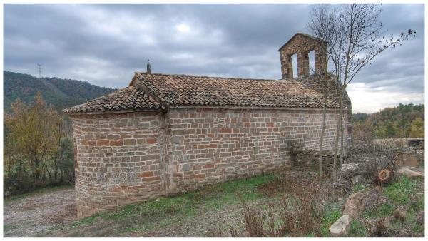 07.12.2015 Ermita Santa Maria de les Omedes  Vilanova de l'Aguda -  Ramon Sunyer