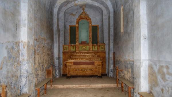 Ermita de  Santa Maria de les Omedes - Autor Ramon Sunyer (2015)