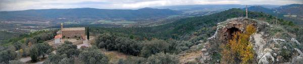 07.12.2015 Sant Miquel i castell de Valldàries  Vilanova de l'Aguda -  Ramon Sunyer