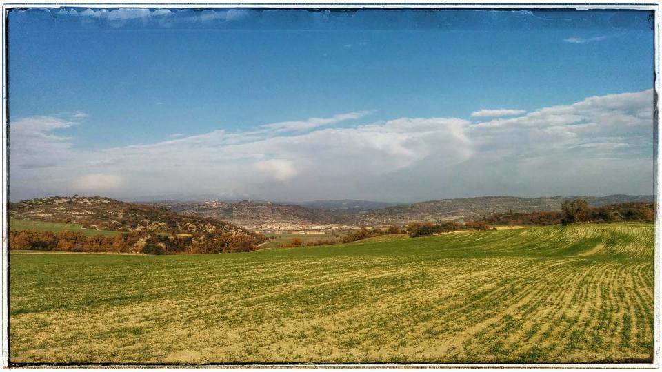 08.12.2015 Vista des d'Ivorra  Torà -  Ramon Sunye