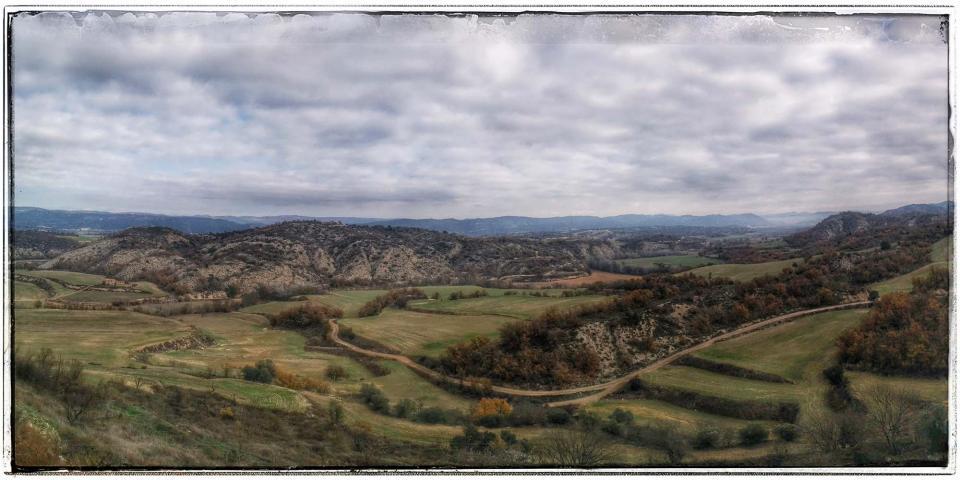 08.12.2015 Vista de la Vall del Llob regós  Talteüll -  Ramon Sunye