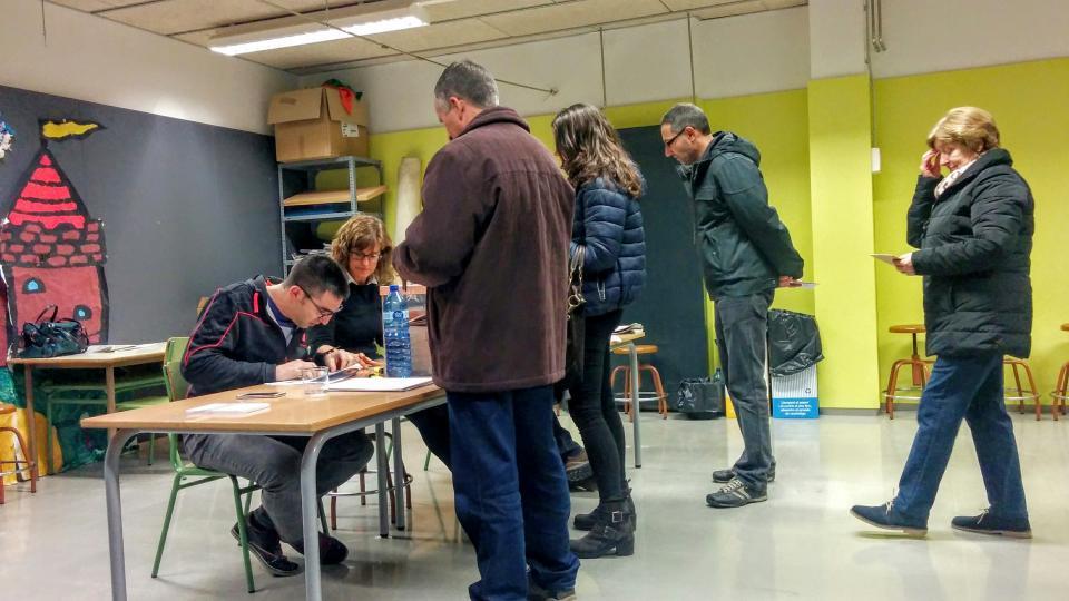 Eleccions generals 2015 a Torà Foto: editor - Torà