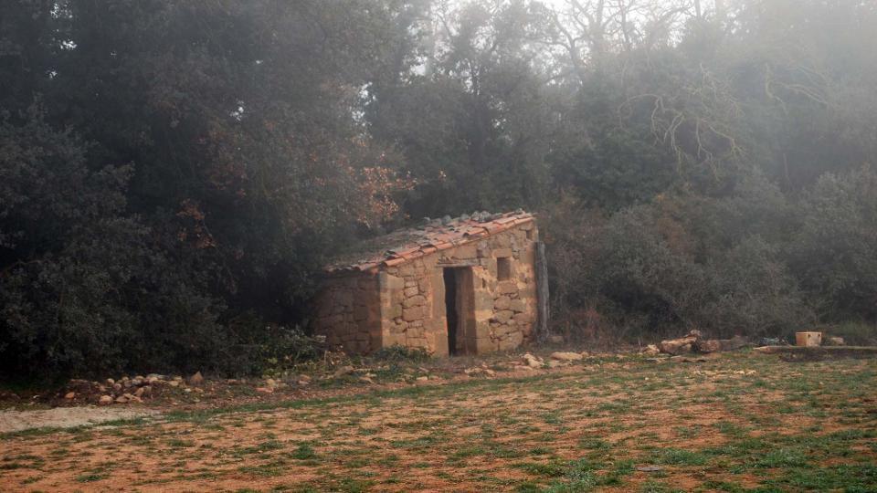20.12.2015 cabana a Salomons  Vallferosa -  Ramon Sunyer