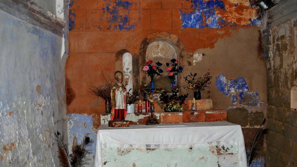 20.12.2015 Capella Sant Martí de Salomons  Vallferosa -  Ramon Sunyer