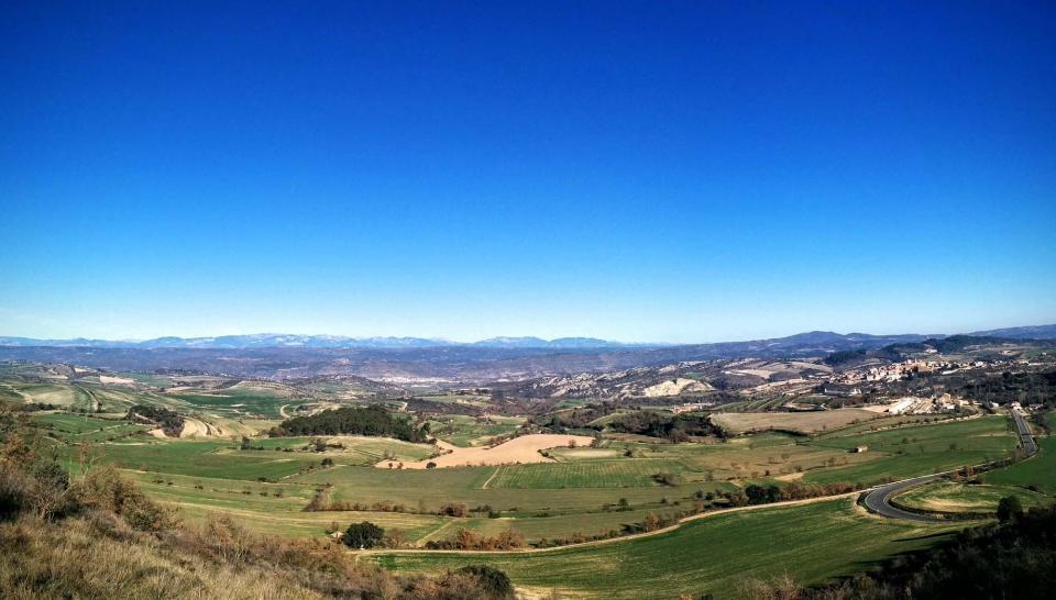 26.12.2015 vista de la vall  Vicfred -  Ramon Sunyer