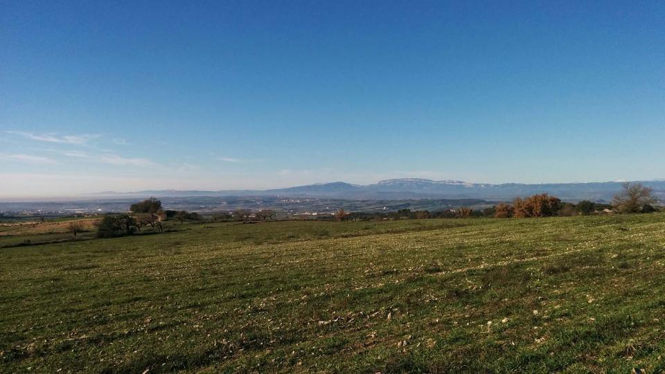 27.12.2015 vista del Montsec  Vicfred -  Ramon Sunyer