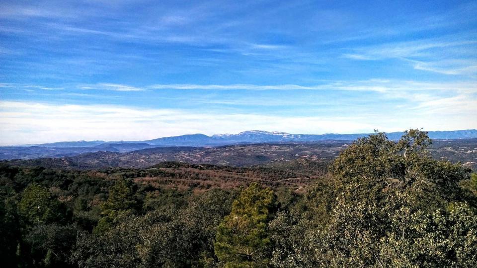 27.12.2015 vista del Montsec  Lloberola -  Ramon Sunyer
