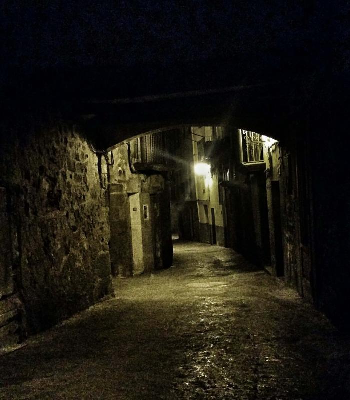 29.12.2015 carrer baix  Torà -  Ramon Sunyer
