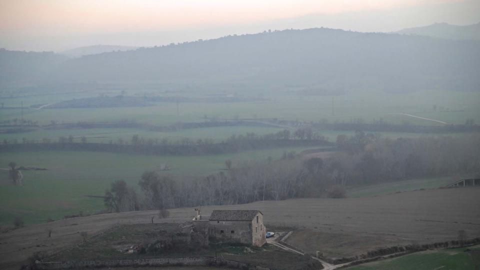 30.12.2015 mas d'en Grau  Torà -  Ramon Sunyer