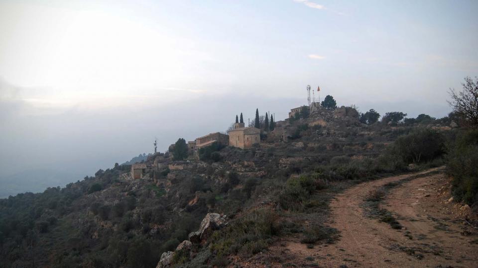 30.12.2015 vista del poble  L'Aguda -  Ramon Sunyer