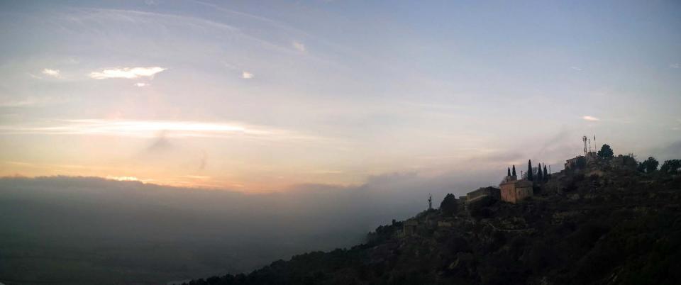 30.12.2015 posta de sol  L'Aguda -  Ramon Sunyer